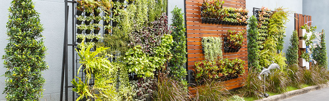How To Create Your Own Vertical Garden Plantland